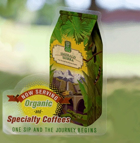 Specialty coffee label