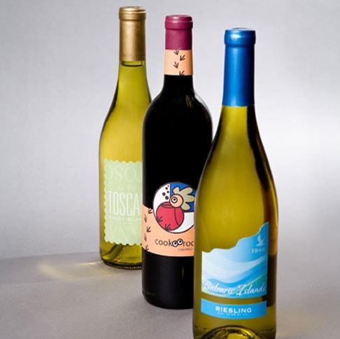 3 Wine Bottles