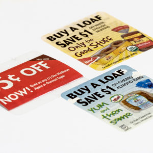 Redeemable Packaging Coupons Peel And Reveal